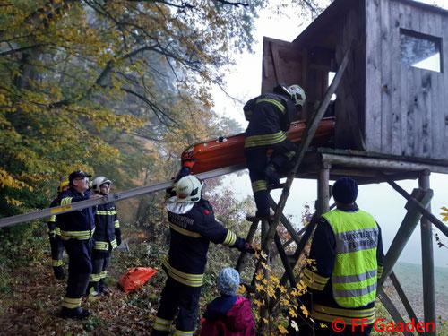 Feuerwehr; Blaulicht; FF Gaaden; Übung; Samariterbund Gaaden; Rettungshundestaffel Ebreichsdorf;