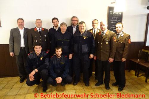 © Betriebsfeuerwehr Schoeller-Bleckmann
