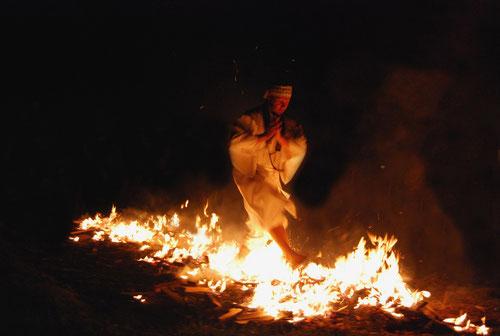 Hiwatari Feuerlauf - 2010 Niederösterreich