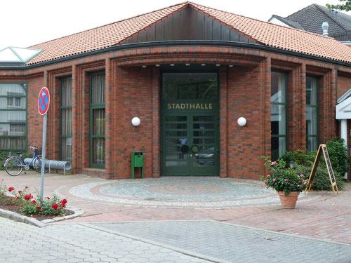 Unser Veranstaltungsort: Die Stadthalle in 25436 Uetersen, Berliner Straße 12