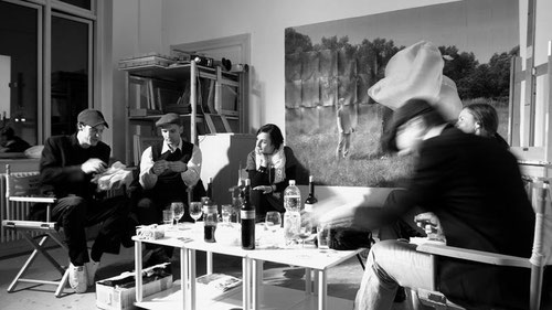 Die Künstergruppe Schaum (Foto: Tim Kellner)