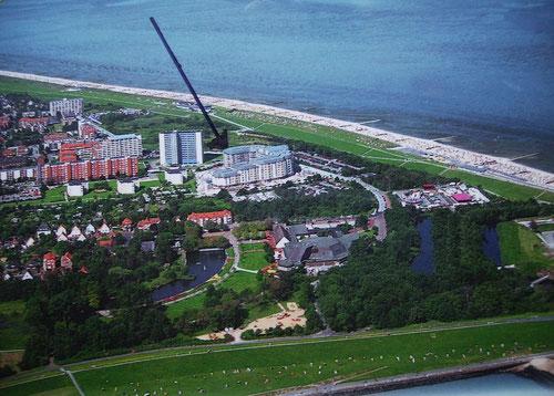 Ferienwohnung Cuxhaven - direkt hinterm Deich