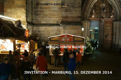 Einladung zum Weihnachtsmarkt an der Elisabeth-Kirche