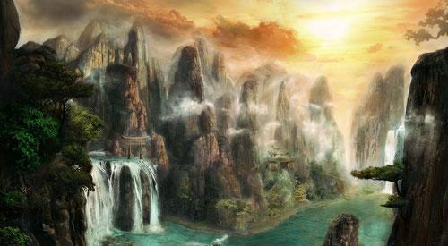 Capanna di Fandor nella Terra degli elfi