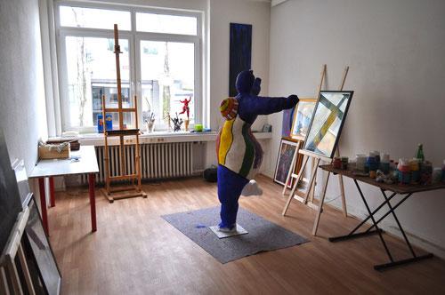 """Atelier StockderStr.3 im """"Kuturbahnhof"""""""