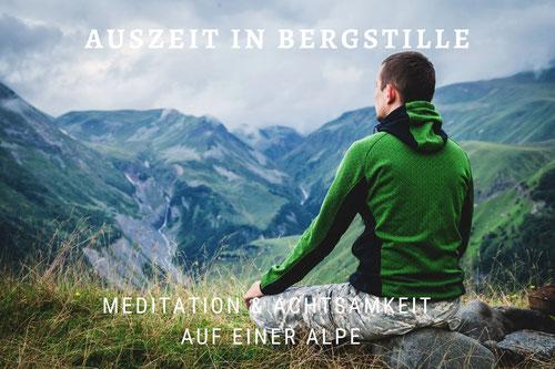 Sommer im Allgäu: Meditation und Wandern auf der Alpe bei Wege zum Sein
