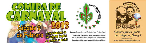 comida solidaria de carnaval 2013