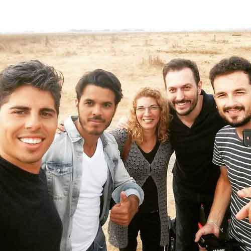equipo de produccion videoclip de Sinlache