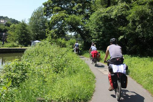 Fahrradtour an Lahn und Mosel im Sommer 2013