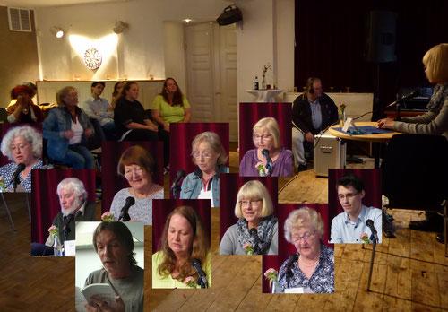 Es lasen die wattliteraten Marianne Hahn, Britta Cordts, Sebastian Pawlick, Dirk-Uwe Becker & Ellen Balsewitsch-Oldach