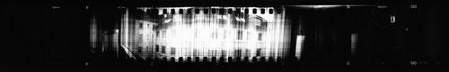 4,4 x 30,4 cm, S/W Kontaktabzug (Filmabschnitt: 3,5 x 24,5 cm)