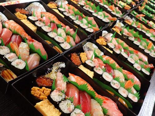 江戸川区 デリバリー 寿司
