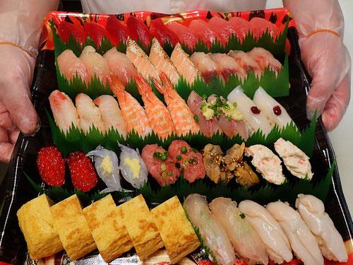 鍛治町 デリバリー 寿司