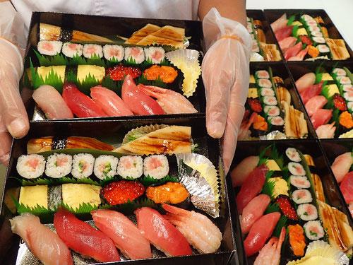 日本橋富沢町 デリバリー 寿司