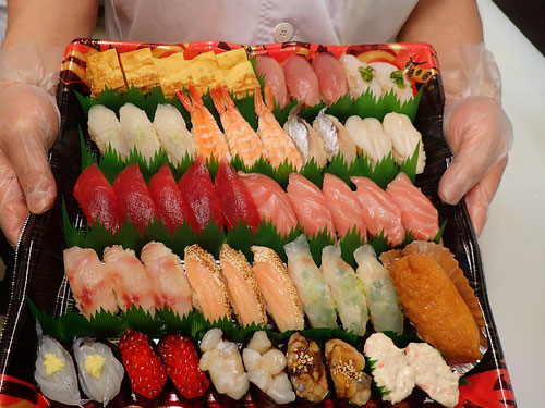 神田錦町 デリバリー 寿司