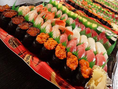 楽天デリバリー 半額セール 寿司