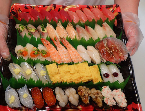 神田西福田町 デリバリー 寿司