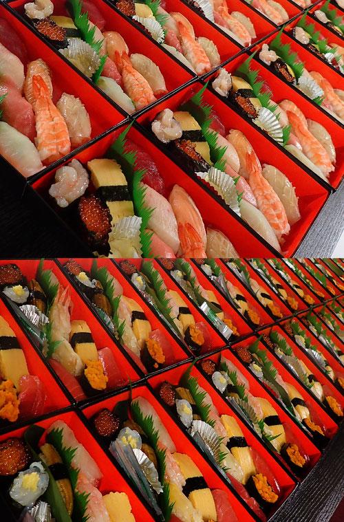 神田練塀町 デリバリー 寿司