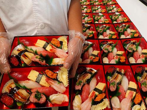 外神田 納会 寿司 出前