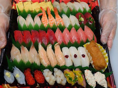 北の丸公園 デリバリー 寿司