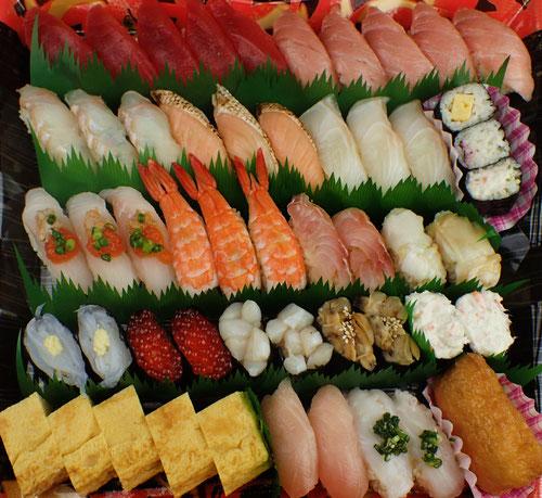 新宿区 デリバリー 寿司