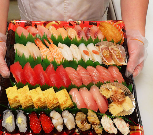 中央区新川 デリバリー 寿司