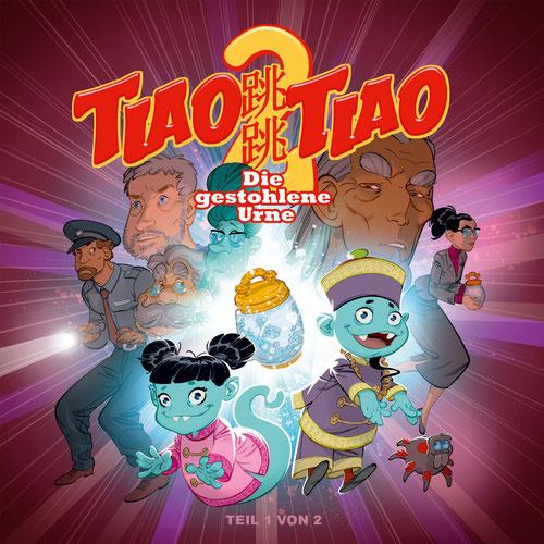 CD-Cover TIAO TIAO Folge 2