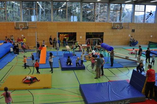 Kinderturnen in Gross-Gerau, so nicht!