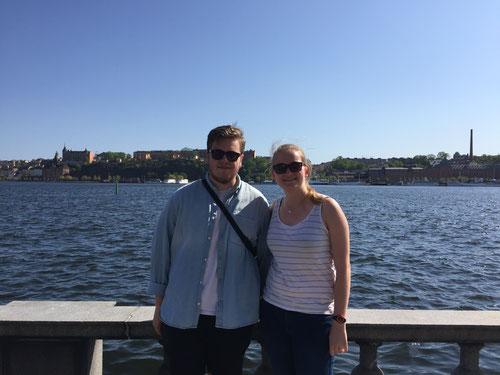 Immanuel und Maria Korten in Stockholm