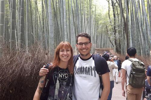 Der Bambuswald von Kyoto