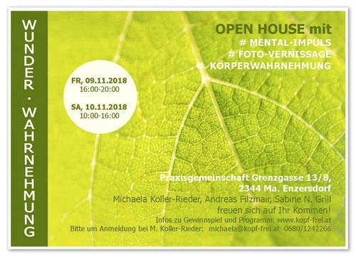 Vernissage, Ausstellung, Einladung