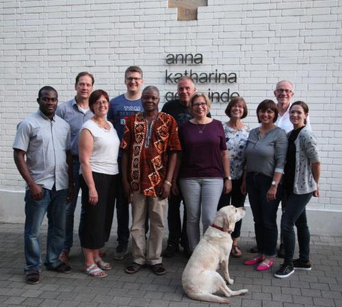 Father Paul zu Besuch in der Anna Katharina Gemeinde Coesfeld