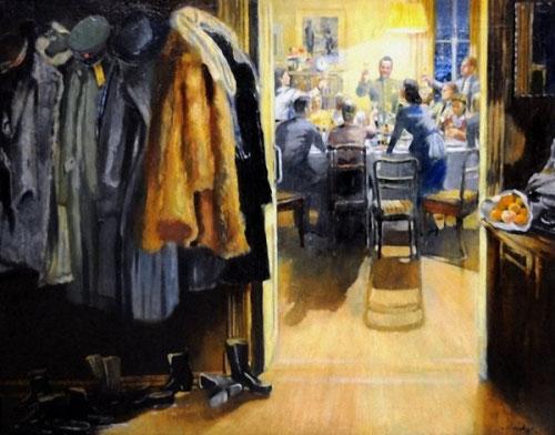 Новый год, Юрий Пименов, 1949 год