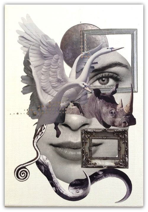 Collage by Marianne Burger - Visible