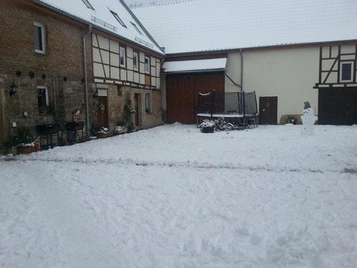 Winter in Grossheringen