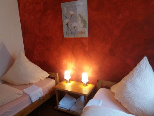Fuchsbau - Zweibettzimmer