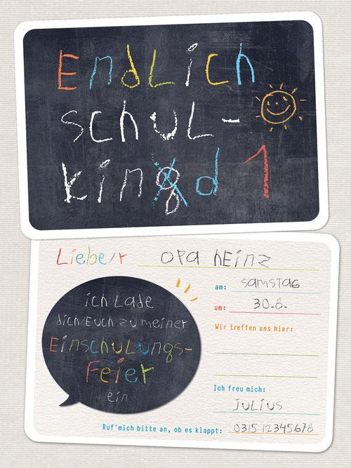 Postkarten Papa ist der BESTE, Freestyle, 2er-Set