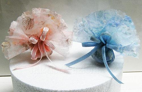 ciuffo rosa e azzurro