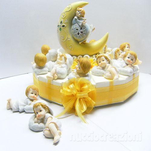 torta baby con cuscino
