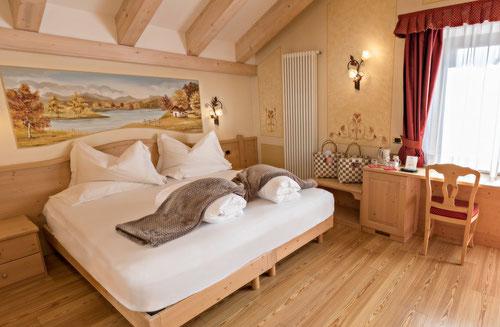 Una delle camere dellHotel Adler foto dal sito