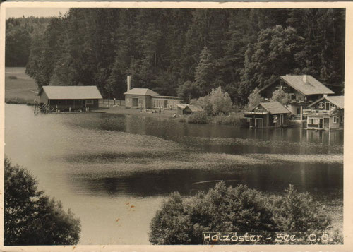 Forsthaus mit Strandbad