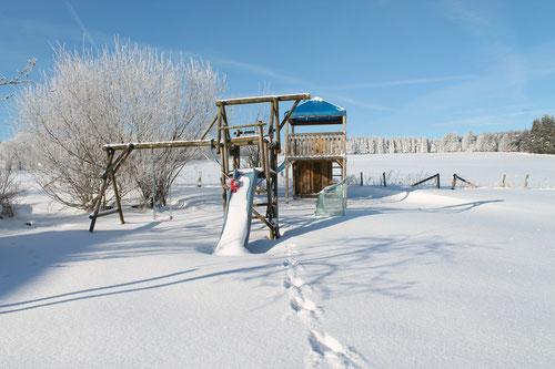 Schneelage Monschau