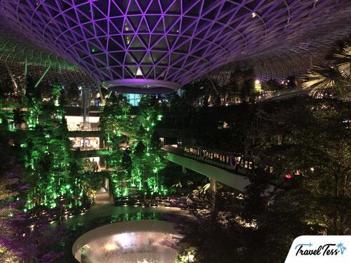 Waterval Singapore vliegveld