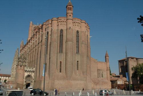 la cathédrale d'ALBI (cliquez sur l'image)