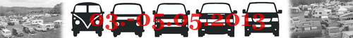 03.05. – 05.05.2013  BULLI-DAYS – Das große VW Bus Treffen am Edersee