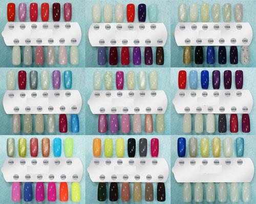 Frisch Farbpalette - UV / LED Nagellacke CCO , Bluesky EW09