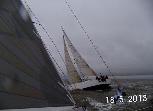 Minox-Cup Cuxhaven-Helgoland: Düster, kalt, nass