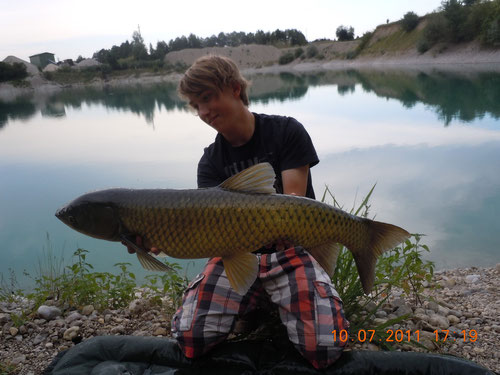 Amur am Baggersee 94cm - 8010g