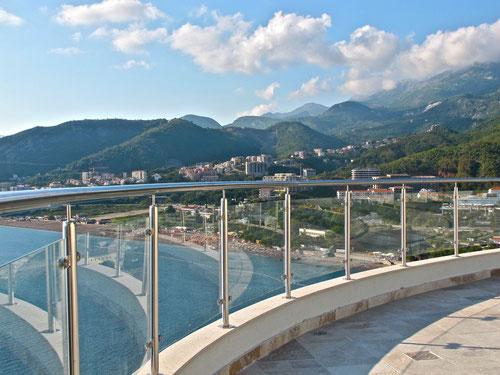 der Panorama-Blick fast wie in Amalfi in Italien