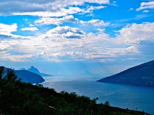 Blick in den Sagfjord